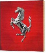 Ferrari Wood Print