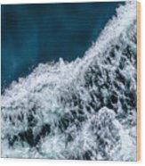 Ferry Waves Wood Print