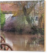 Fiddleford Mill - England Wood Print