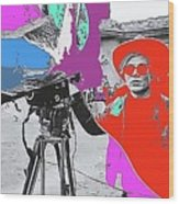 Film Homage Andy Warhol Lonesome Cowboys Old Tucson Arizona 1968-2013 Wood Print