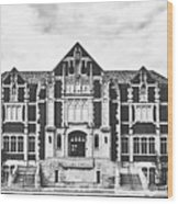 Fine Arts Building - Ball State University Wood Print