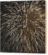 Firework Colors Wood Print
