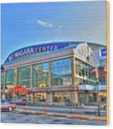 First Niagara Center Wood Print