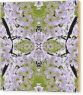 Floral Mural Wood Print