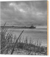 Folly Beach Pier Wood Print