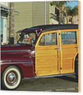 Ford California Woody Station Wagon Wood Print
