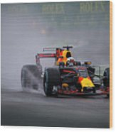 Formula 1 Monza 2017 Wood Print