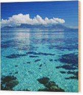 French Polynesia, Moorea Wood Print