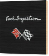Fuel Injection Wood Print