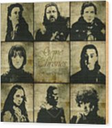 Game Of Thrones. House Stark. Wood Print