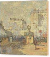 Gare Saint Lazare Wood Print
