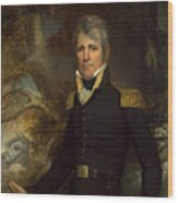 General Andrew Jackson Wood Print