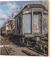 Ghost Train Wood Print