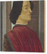 Giuliano De' Medici Wood Print