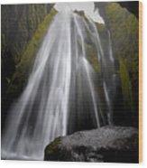 Gljufrabui Wood Print