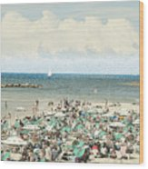 Gordon Beach, Tel Aviv, Israel Wood Print