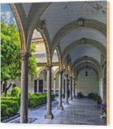 Granada Spain Wood Print