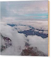 Grand Canyon Above The Clouds Wood Print