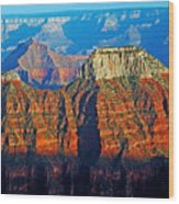Grand Canyon National Park - Sunset On North Rim  Wood Print