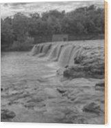 Grand Falls Wood Print
