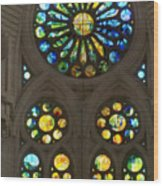 Graphic Art From Photo Library Of Photographic Collection Of Christian Churches Temples Of Place Of  Wood Print