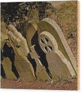 Grave Stones Wood Print