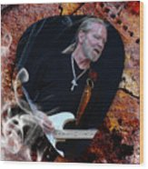 Gregg Allman Art Wood Print