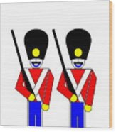 2 Guardsmen Wood Print