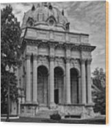 Handley Library - Winchester Virginia Wood Print