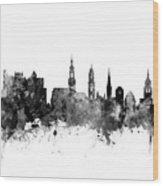 Heidelberg Germany Skyline Wood Print