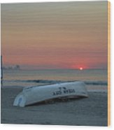 Here Comes The Sun - Ocean City New Jersey Wood Print