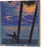 Hermosa Beach. Wood Print