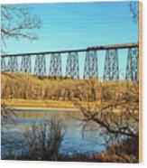 High Level Bridge Wood Print