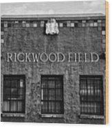 Historic Rickwood Field Wood Print