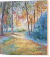 Homeward Wood Print