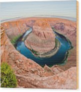 Horseshoe Bend Near Page Arizona Wood Print