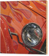 Hot Rod Ford Coupe 1932 Wood Print