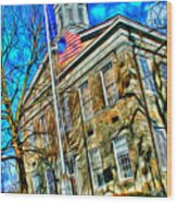 Howard County Courthouse Wood Print