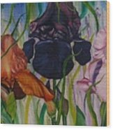 I Thought Tulips Wood Print by Shahid Muqaddim
