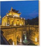 Imperial Citadel Of Hanoi Wood Print