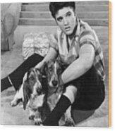 Jailhouse Rock, Elvis Presley, 1957 Wood Print