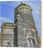 James A. Garfield Memorial Wood Print