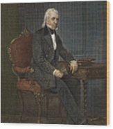 James Knox Polk (1795-1849) Wood Print by Granger