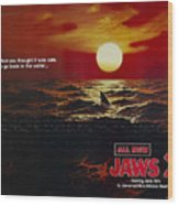 Jaws 2 1978  Wood Print