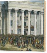 Jefferson Davis Wood Print