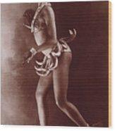 Josephine Baker (1906-1975) Wood Print