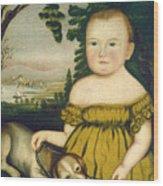 Joshua Lamb Wood Print