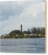 Jupiter Florida Wood Print