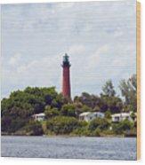 Jupiter Inlet Florida Wood Print