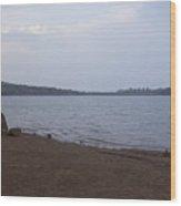 Kaas Lake Wood Print